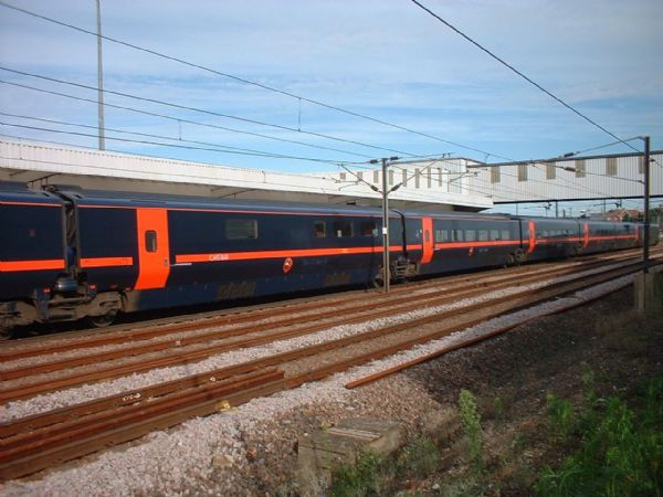 Class 373 - GNER White Rose - Red Doors